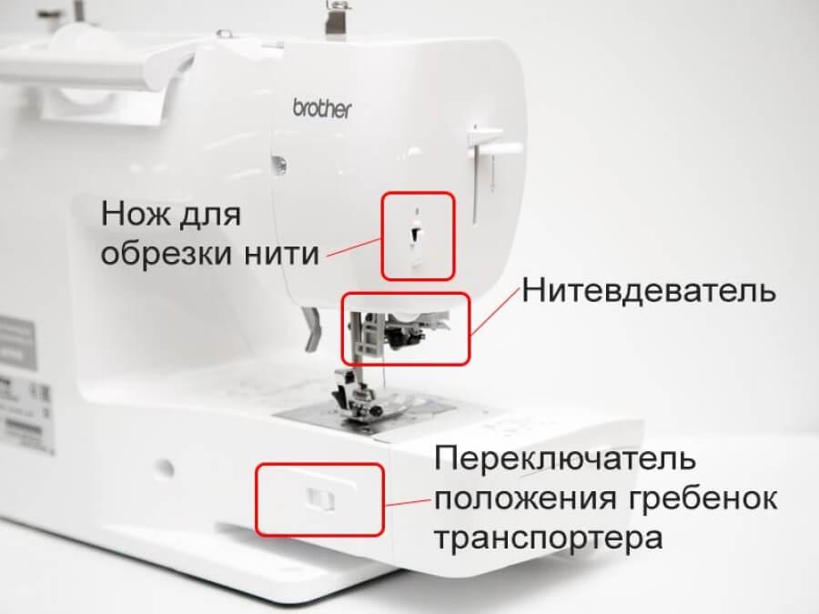 Функциональность Brother Innov-is A150