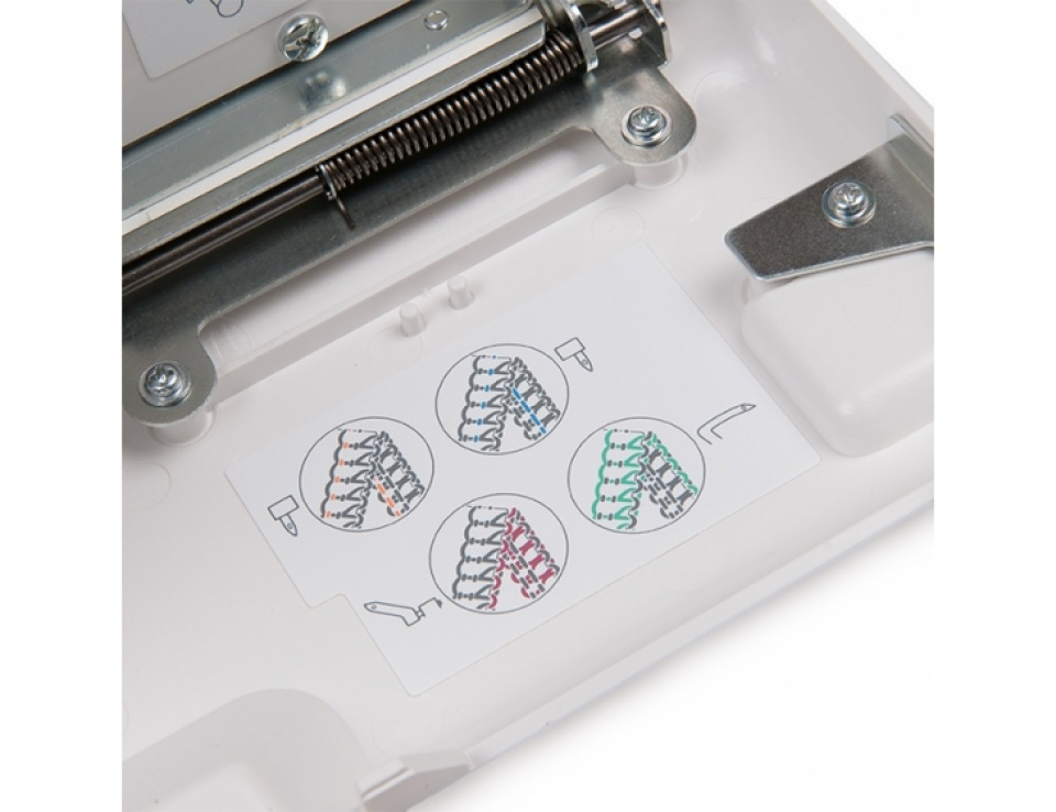 Цветовая маркировка нитей Janome HQ-075D