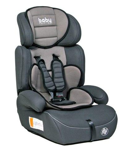 Автокресло детское Baby Prestige Zenith (Grey) группа 1/2/3 от 9 до 36 кг