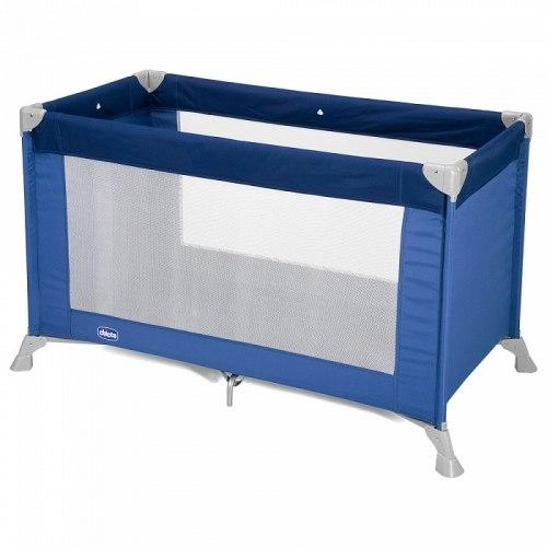 Кроватка - манеж Chicco Good NIght Blue 1 уровень