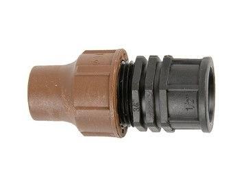 """Переходник для капельного шланга -1/2"""" ВР (компр) BF-62-50 lock"""