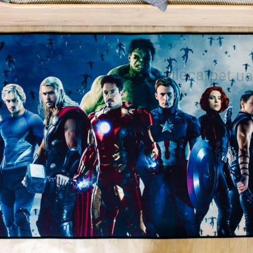 Ковер из микрофибры Супергерои Marvel Мстители 1 Скидка 40 % А-01