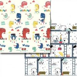 Детский складной термоковрик+ Чехол на змейке ХРЕ - 15