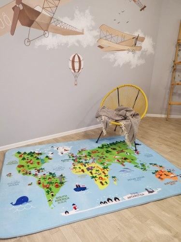 Детский плюшевый коврик Атлас ПК-14