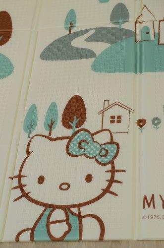 Детский складной коврик-книжка Hello Kitty ХРЕ-46