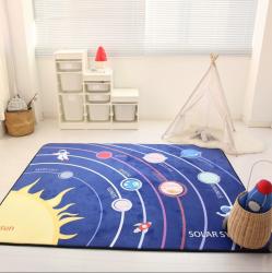 Мягкий толстый ковер-мат ТМ-41 Солнце и планеты