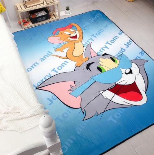Мягкий толстый ковер-мат ТМ-72 Tom and Jerry