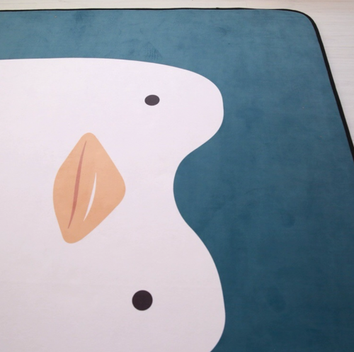Мягкий толстый ковер-мат ТМ-73 Пингвин