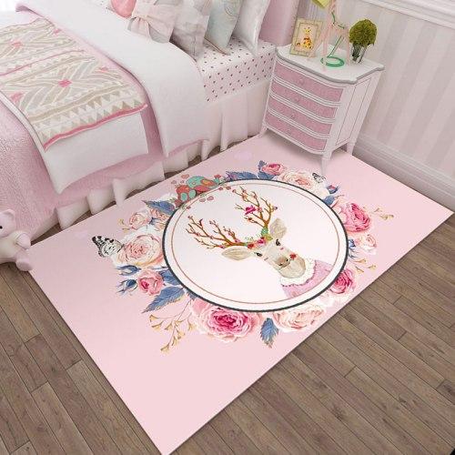 Детский коврик Розовый Олень ДП-26
