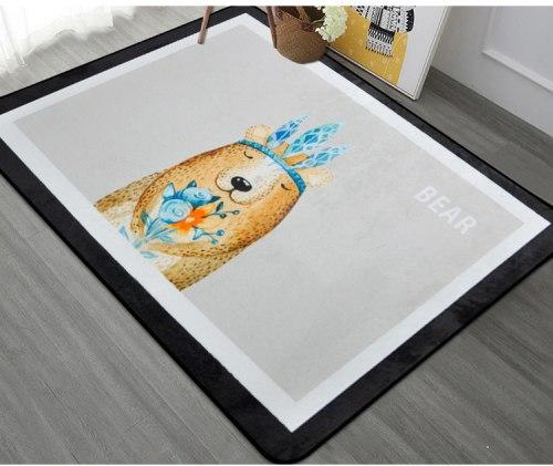 Теплый детский коврик-мат ТМ-96