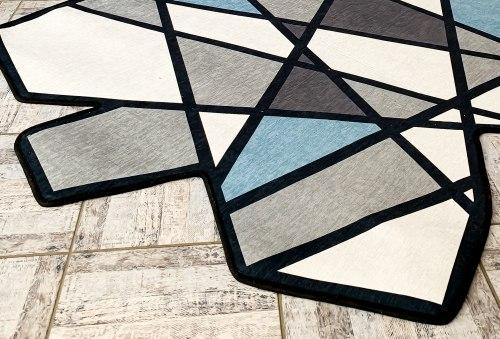 Ковер геометрической формы