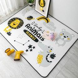 Детский плюшевый коврик HappyBabby