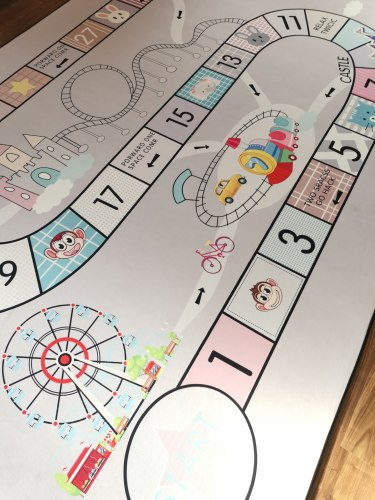 Детский ковёр Игра ДП-67