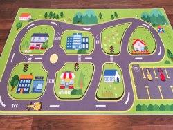 Детский ковер Город Трек ДП-144