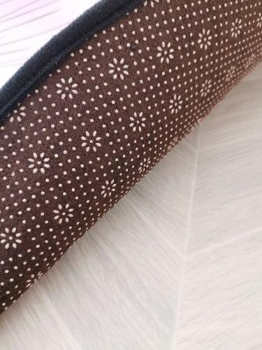 Круглый детский коврик Единорожка 160 см Пудровый Е-4