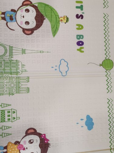Детский складной коврик-книжка ХРЕ - 7