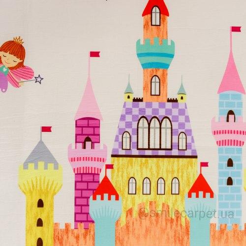 Толстый мат Замок для принцессы ТМ-5