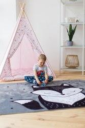Детский плюшевый коврик Мистер Лис ПК-1