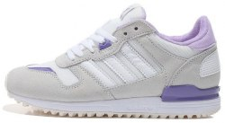 ZX 700 White/Purple Adidas
