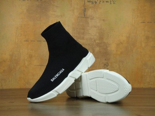 Knit High-Top Sneakers Black/Whit Balenciaga