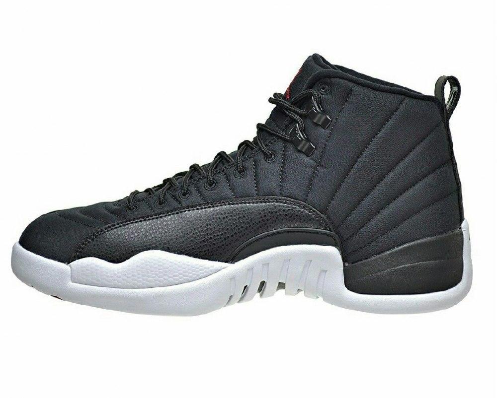 11886011 ᐉ Купить баскетбольную обувь Air Jordan 12 Retro Black Nylon Nike ...