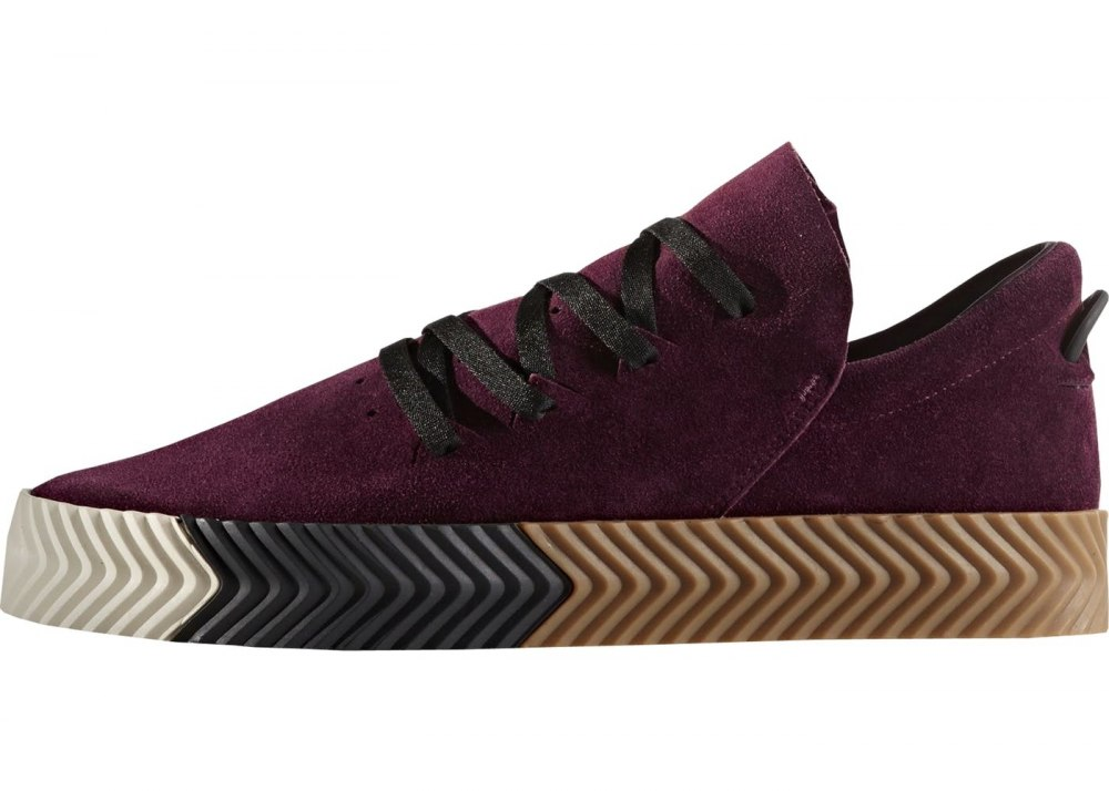 1b1e881a ᐉ Купить кроссовки AW Skate Alexander Wang Maroon Adidas – с ...