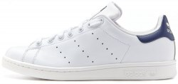 Stan Smith White Blue Women Adidas