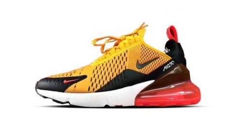 Air Max 270 Yellow/black/red Nike