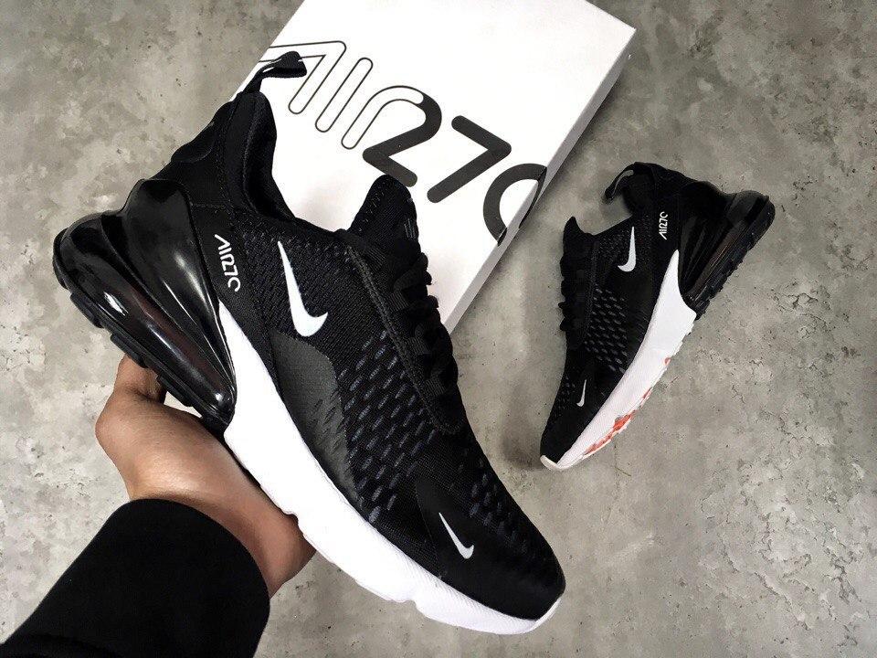 23666594 ᐉ Купить кроссовки Air Max 270 Black/White Nike – с доставкой в ...