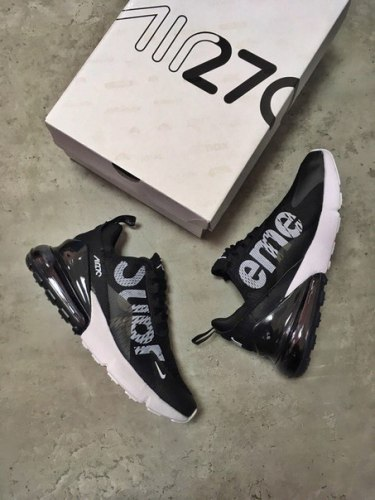 Air Max 270 SUPREME Black Nike