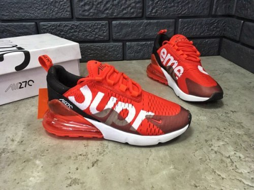 Air Max 270 SUPREME Red Nike