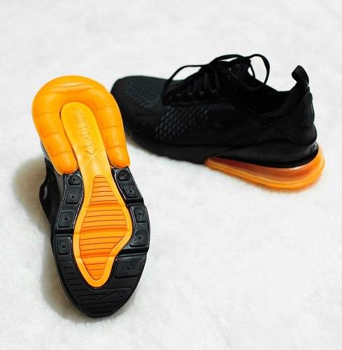 Air Max 270 Blacj/Orange Nike