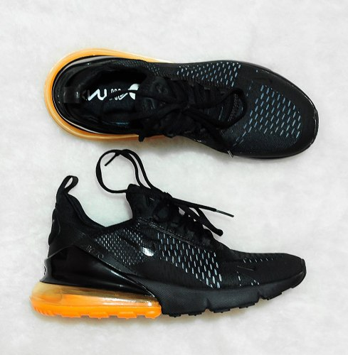 Air Max 270 Blacj/Orange Nike