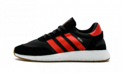 Iniki Runner Black/Red Adidas