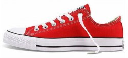 "All Star Low ""Red/White"" Women Converse"