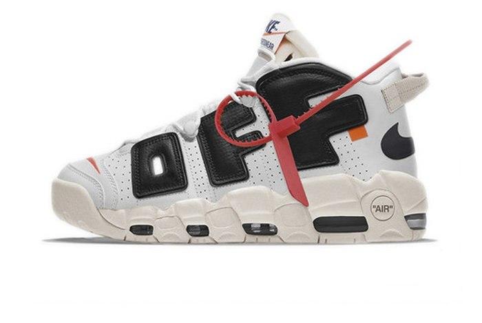 ee656fbc ᐉ Купить кроссовки OFF-WHITE x Nike Air More Uptempo White Nike – с ...