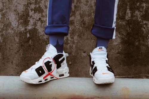 OFF-WHITE x Nike Air More Uptempo White Nike