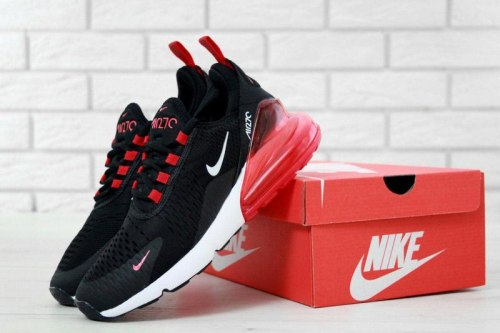 Air Max 270 Black/Whiite/Red Nike