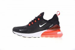 Air Max 270 Black/Whiite/Red Nike