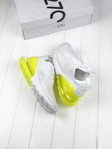 Air Max 270 White/Green Nike