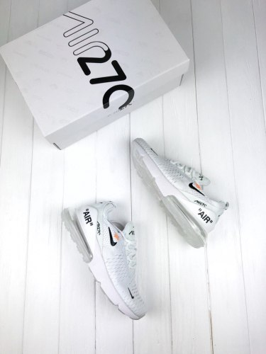 Off White x Air Max 270 white Nike