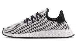Deerupt Runner White/Black Adidas