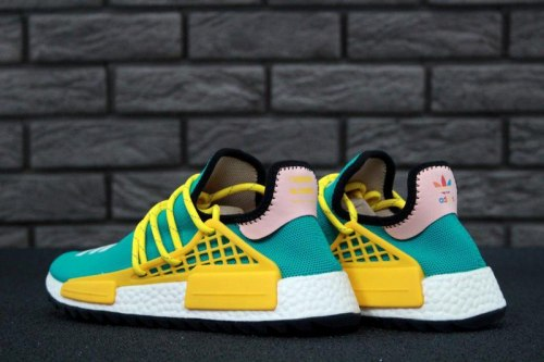 pretty nice a0f66 d71d3 Pharrell Williams Human Race NMD green yellow