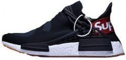 Pharrell Williams Human Race NMD black/White Supreme Adidas