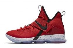 LeBron 14 University Red Nike