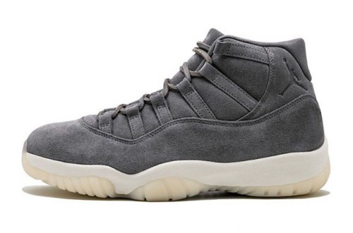 Air Jordan 11 Retro Premium Grey Suede Nike