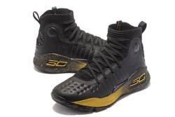 Under Armour Curry 4 Black/Yellow Under Armour