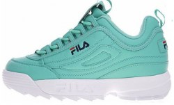 "Disruptor II ""White/Green"" Fila"