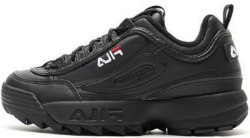 Disruptor II Leather «Black/Black» Fila