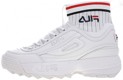Disruptor 2 ECO Sockfit all white Fila
